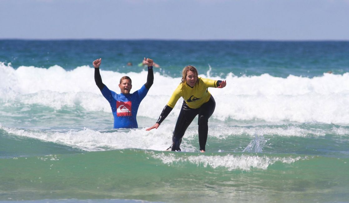 Private Surf Lesson Fistral Beach Newquay Cornwall