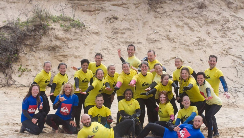 Team Building Surf Lesson