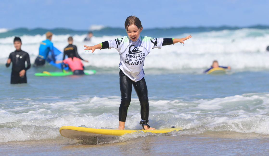 children's surf lessons newquay